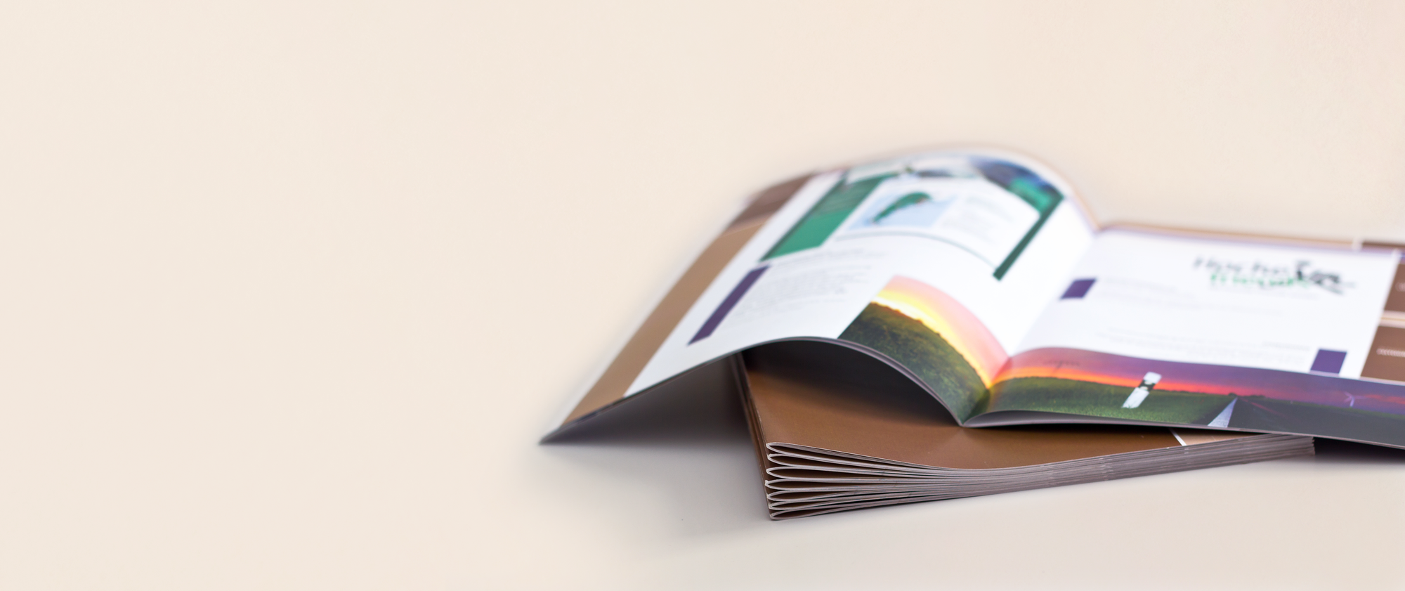 Brochures Stitched A4