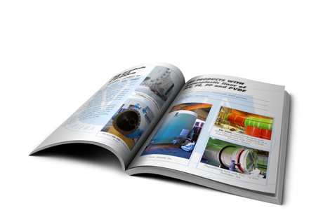 Glue binded brochure